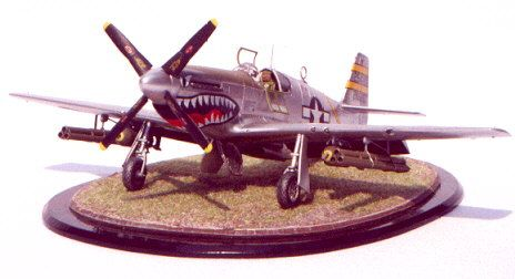 North American P-51B Mustang by Larry Goodall (Tamiya 1/48)