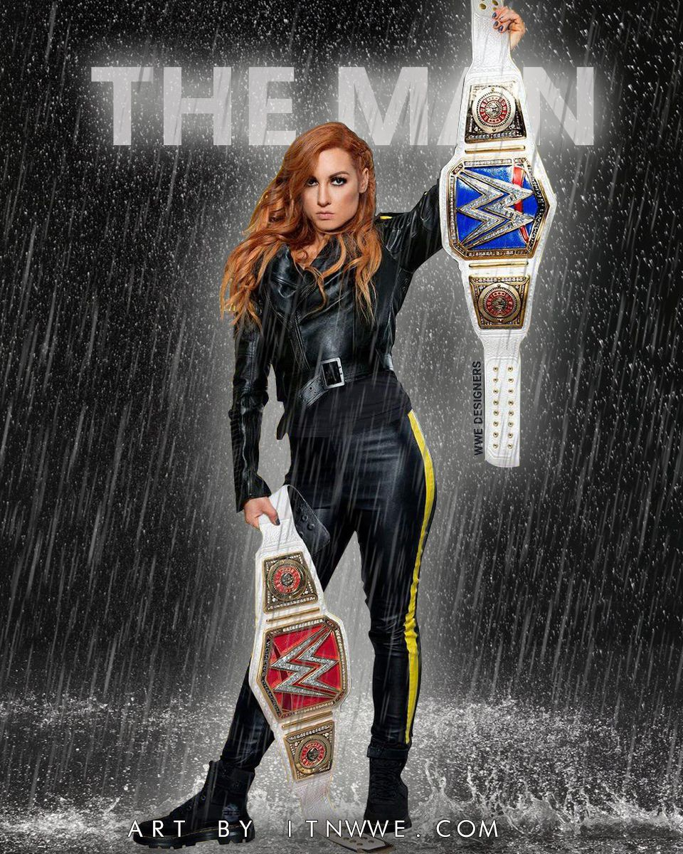 BECKY LYNCH THE MAN WALLPAPER 2019 by ITNWWE
