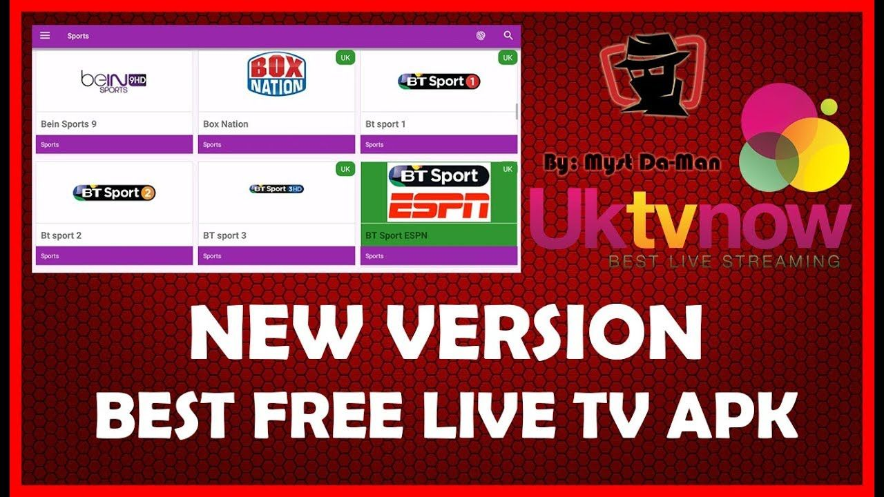 UKTVNOW UPDATE! A MUST HAVE FREE LIVE TV APK FOR ANDROID