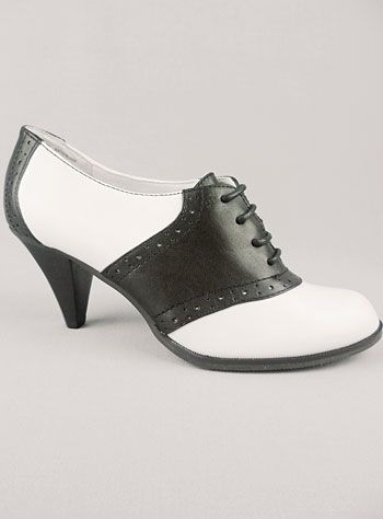 d32dfffa00f54 High Heel Saddle Shoes. | Shoes & Accessories | Shoes, Saddle shoes ...