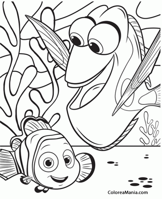 Pin by Pablo Figueroa on A Dory E | Pinterest | Coloring pages, Nemo ...