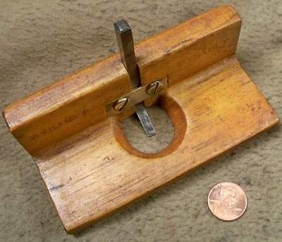 Small Wooden Router Plane Good Shape Collectible Shop