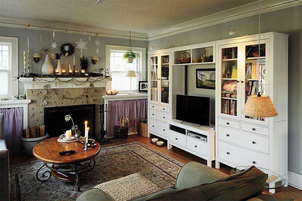 Entertainment Room Decorating Ideas Part - 34: Eclectic Living Room Entertainment Center Design, Pictures, Remodel, Decor  And Ideas
