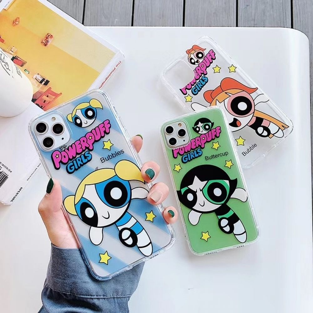 Hot US Cartoon Powerpuff Policemen Phone Case For iPhone Free Shipping Worldwide #gadget, #case