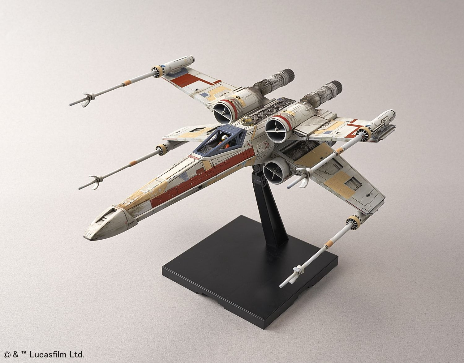 Bandai Star Wars 1 72 Plastic Model Red Squadron X Wing Starfighter Special Set Rogue One Plastic Model Kits X Wing Starfighter Plastic Models