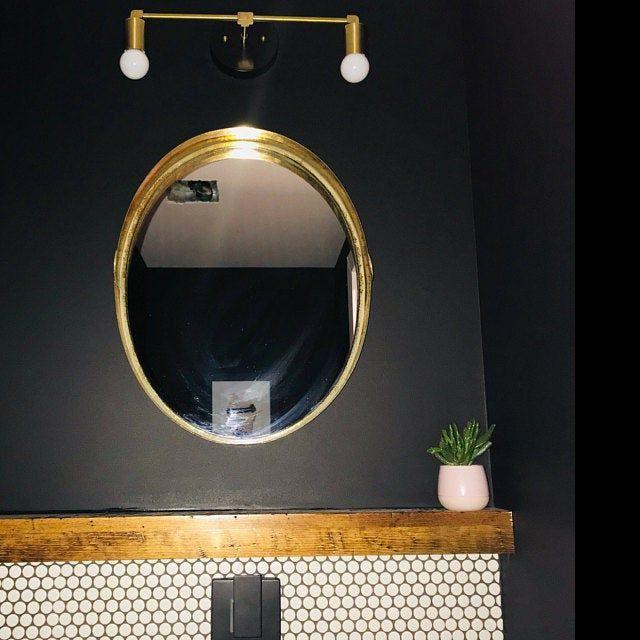 Photo of Vanity Light Fixture – Bathroom Sconce – Vanity Lighting – Brass Black Vanity – …