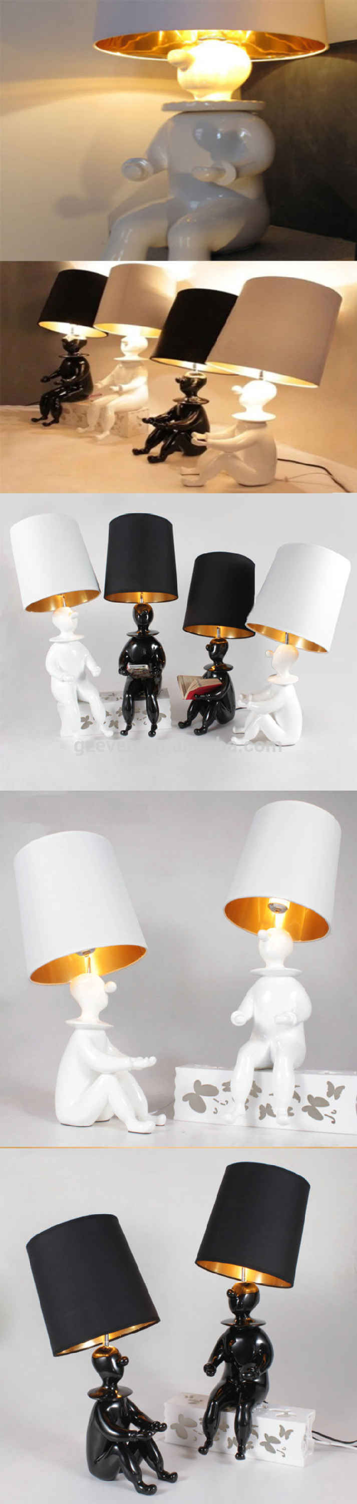 Child cartoon clown decoration student read desk light study table child cartoon clown decoration student read desk light study table lamp lighting geotapseo Gallery