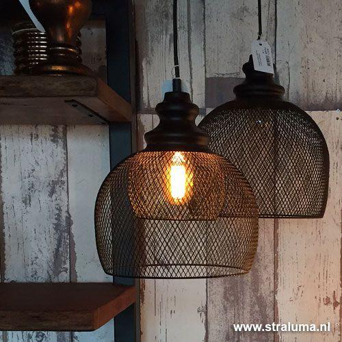 gaas hanglamp karleen zwart slaapkamer - www.straluma.nl | huis, Deco ideeën