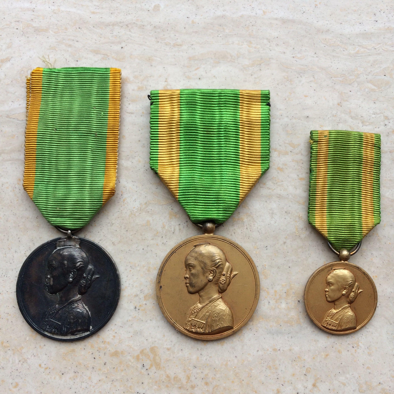 Gisten raden medal daughter from Paku Buono X