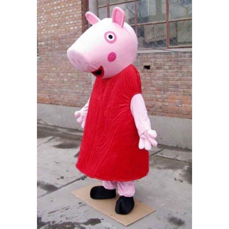 Peppa Pig Adult Mascot Costume Hire Deposit Costumes Pig