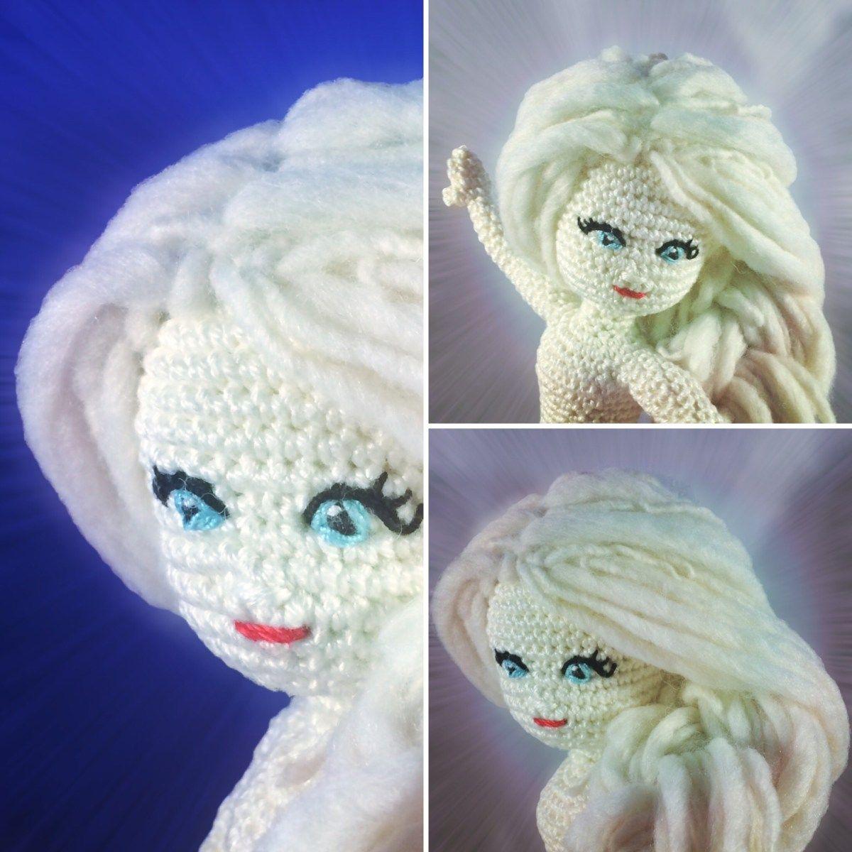 Freie Häkelanleitung: Elsa Puppe häkeln | amigurumi | Pinterest ...