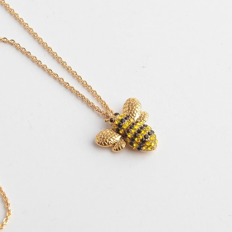 Picnic Perfect Pave Bee Pendant Necklace Kate Spade Jewelry Necklace Bee Pendant Bee Necklace