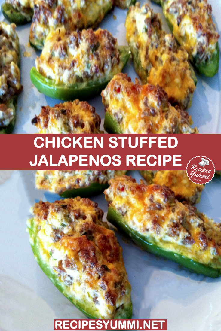 Chicken Stuffed Jalapenos Recipe In 2020 Jalapeno Recipes Recipes Jalepeno Recipes