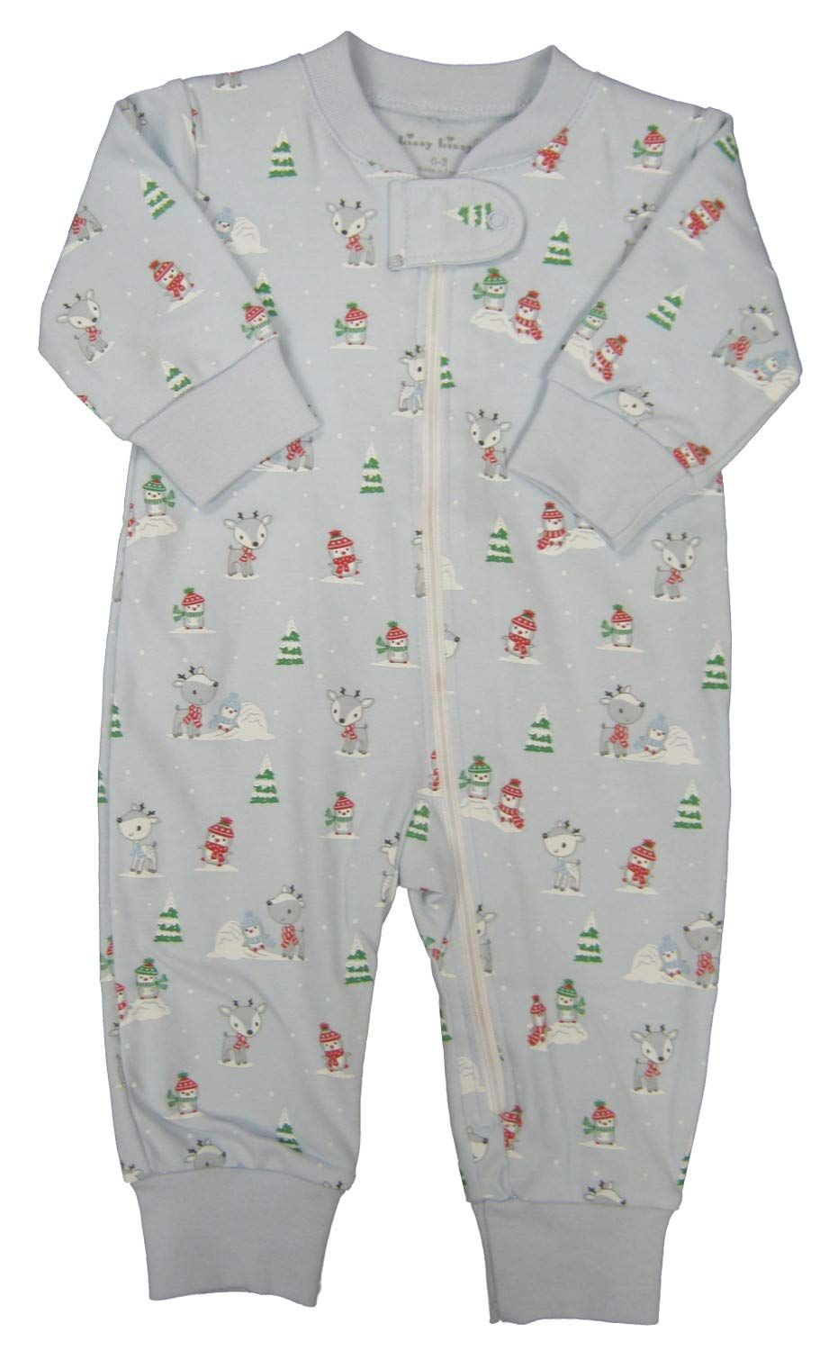 Kissy Kissy Babyboys Infant Snow Day Print Playsuit With Zipperblue03 Months See This Fantastic Item This Is With Images Boy Outfits Baby Girl Pajamas Print Playsuit