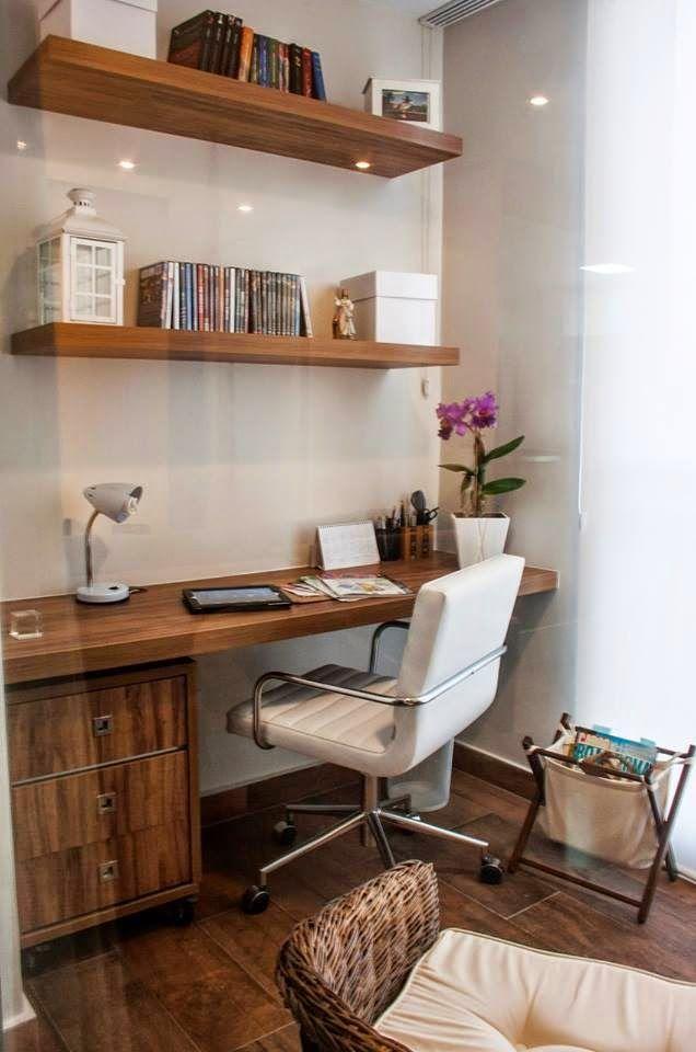 Escritório em Casa! Os Home Office mais Encantadores que Você já Viu