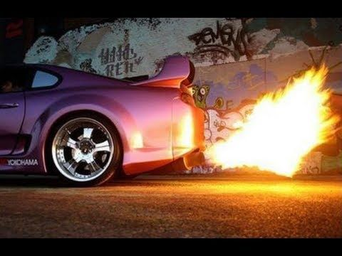 Beautiful Supra Backfire And Burnout Compilation. Car HumorToyota SupraJdm ...