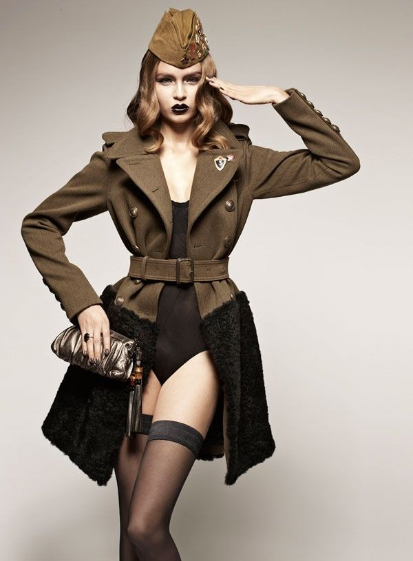 Army look | Military inspired fashion, Military fashion