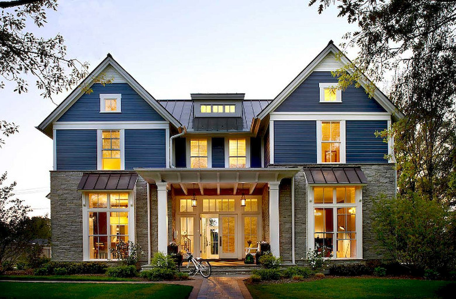 75 aesthetic farmhouse exterior design ideas | exterior design and