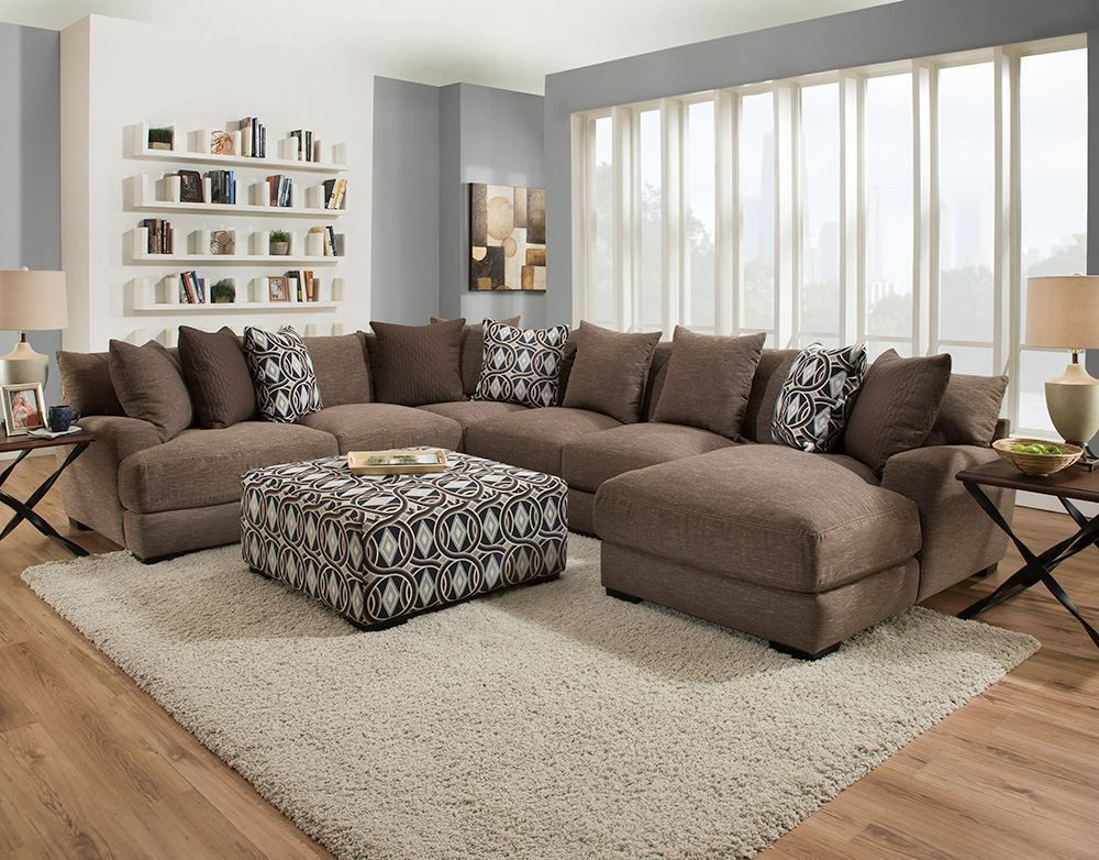 Timothy Five Piece Sectional Farm House Living Room Living Room