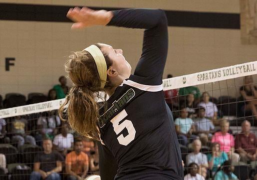 Haake Selected To A Sun All Freshman Team Volleyball News Freshman Teams