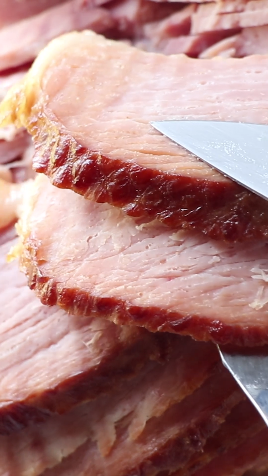 Crockpot Spiral Ham - Just 5 minutes of prep for tender, juicy ham every time! You will never fix ham any other way again.