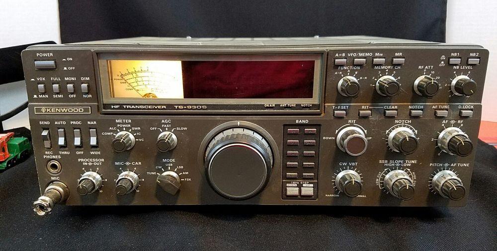 Kenwood Ts 930s Hf Transceiver Ham Radio Ham Radio Radio Kenwood