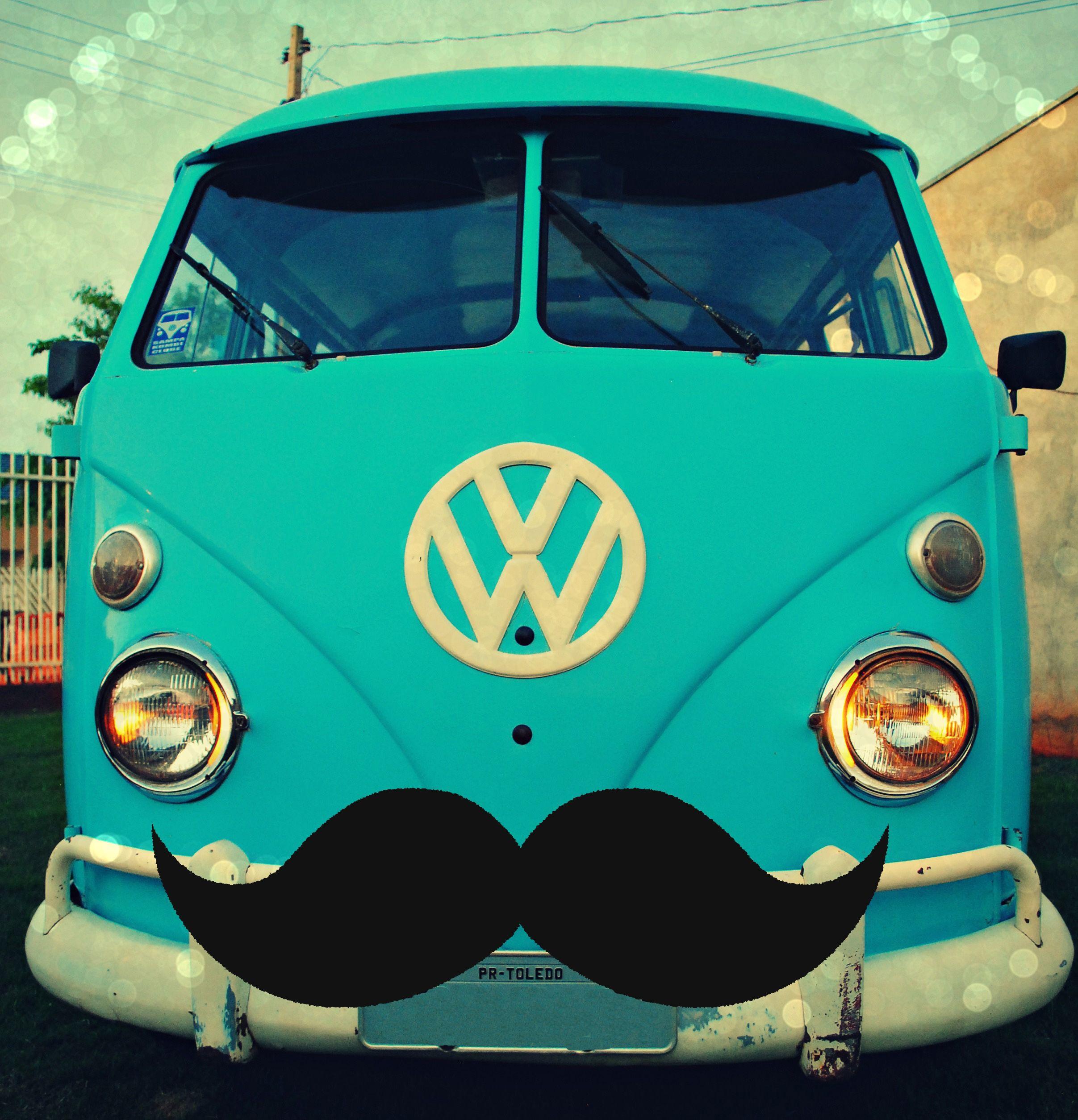 kombi mustache aircooled Volkswagen logo, Vehicle