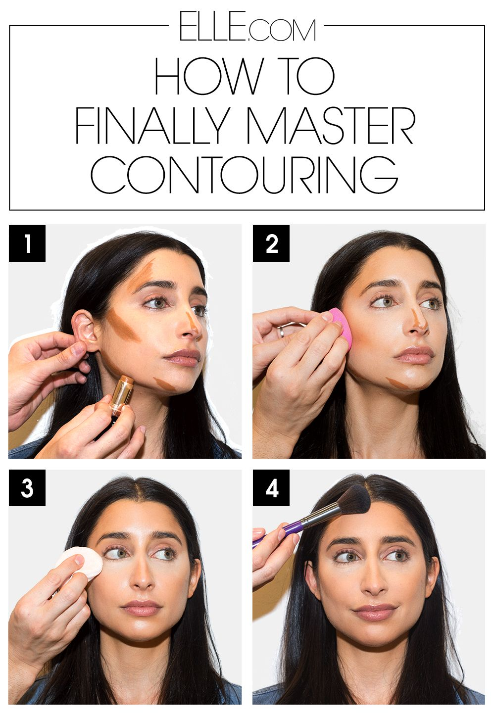 How to Finally Master Contouring in 4 Easy Steps Contour