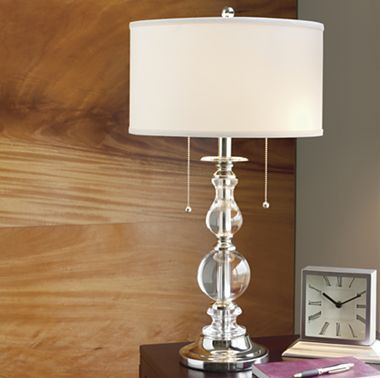 Royal Velvet® Optic Crystal Table Lamp   Table lamps, Cindy ...