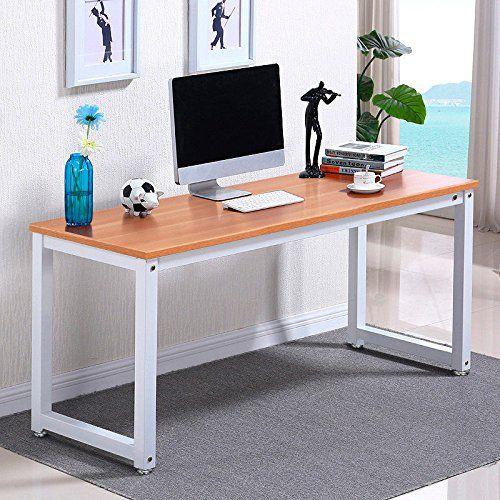 Wood Computer Laptop Workstation Desk