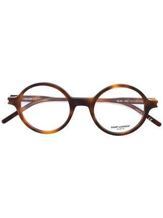 Saint Laurent lunette de vue à monture ronde   Lunettes   Pinterest ... b61ad7429558