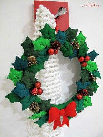 Ideas para decorar en Navidad con fieltro Ideas Navidad