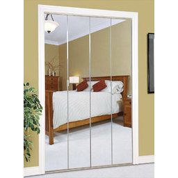 Slimfold® Series 4900 Bifold Mirror Closet Door By Dunbarton Corporation