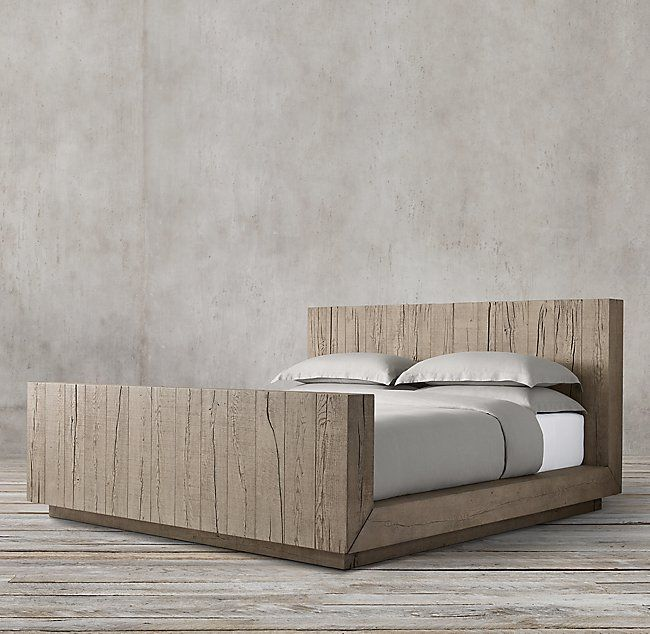 Aspen French Oak Bed With Footboard With Images Oak Beds Bed Bed Furniture