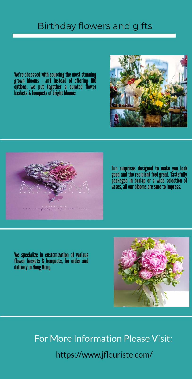 Jfleuriste makes the birthday special by sending a bir birthday descubre ideas sobre tiendas de flores izmirmasajfo