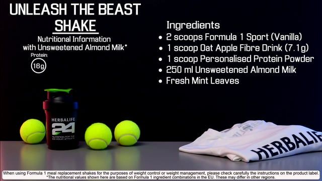 Herbalife 24 Formula 1 Shake Recipe Shake Recipes Herbalife Vanilla Shake Recipes
