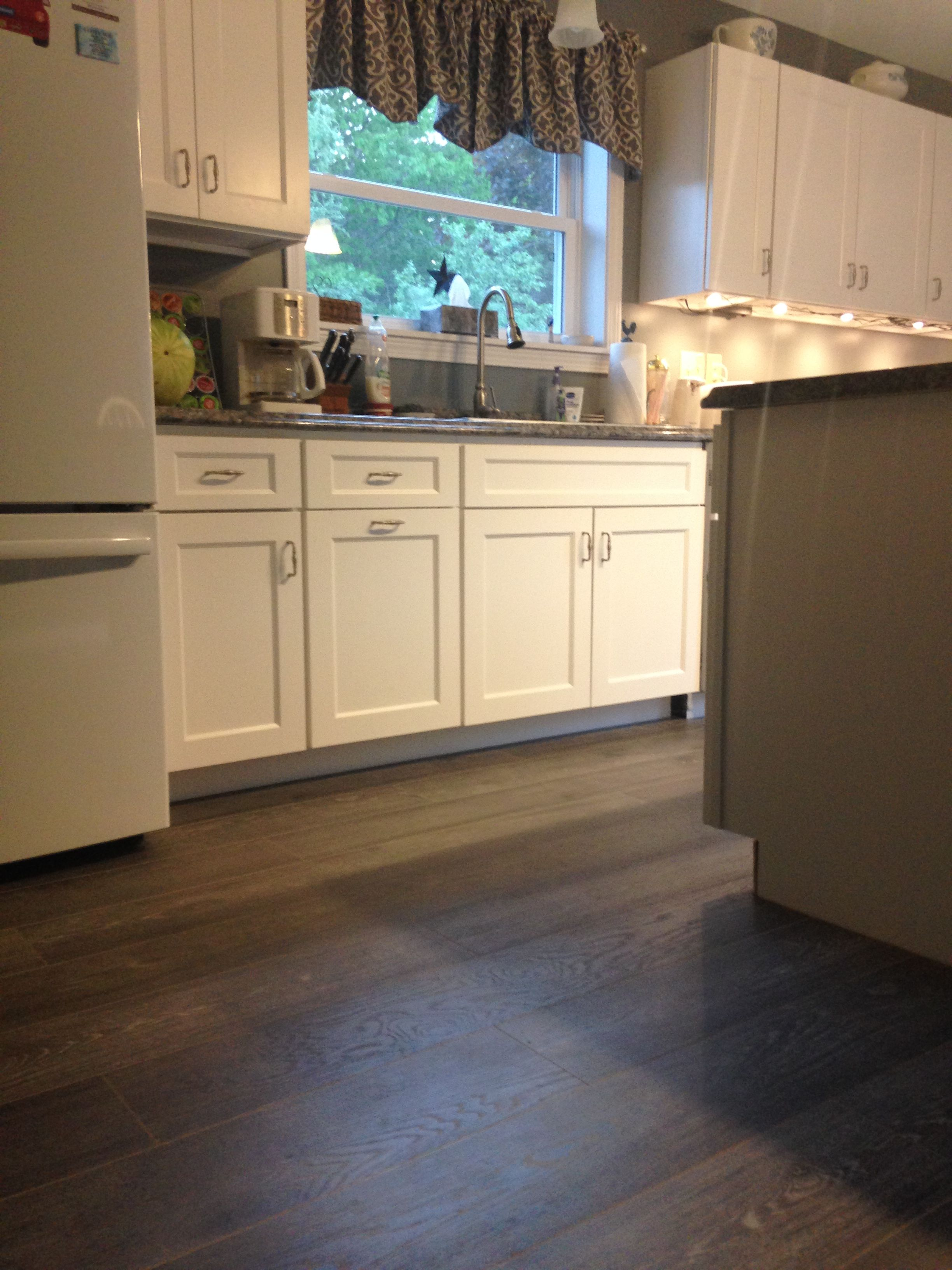 Laminate Flooring For Kitchens Another Angle Of Robin Cs Beautiful Kitchen With New Kronoswiss