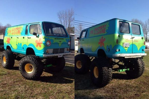 For Sale 1966 Chevy Handi Van 4x4 Mystery Machine Grab A Wrench Vans Pinterest 4x4