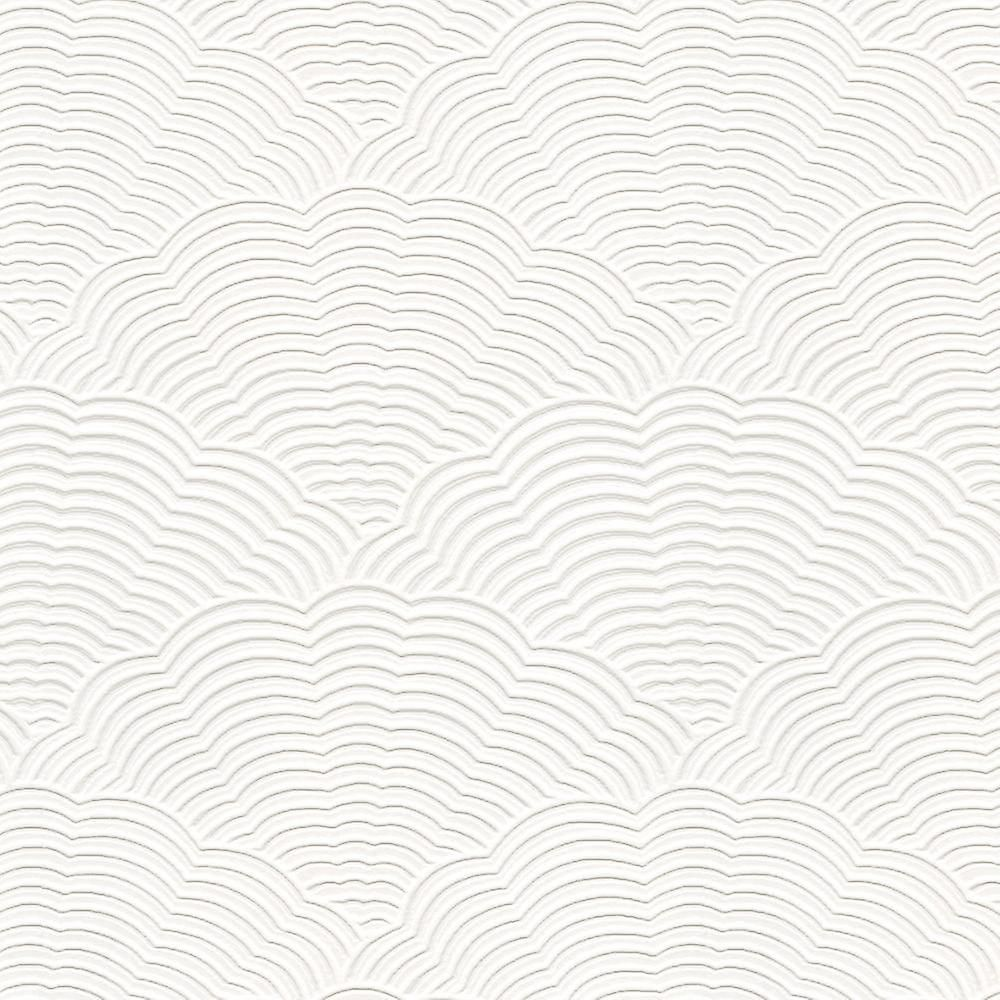 White Blown Vinyl Wallpaper Embossed Textured Paintable Fan Artex Fruugo Papeis De Parede Tapete Of Wallpaper
