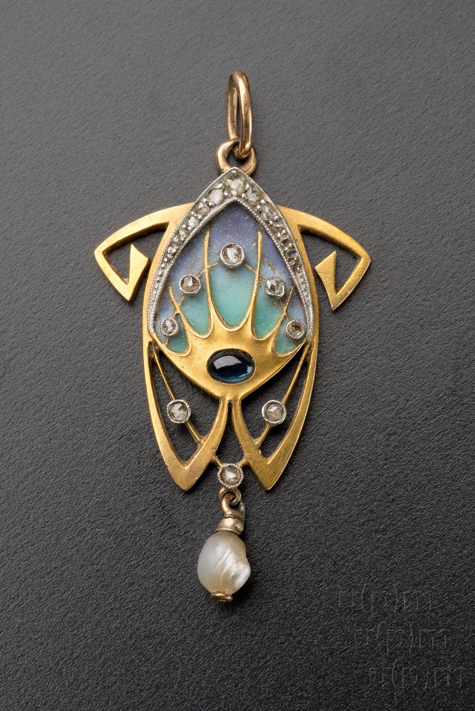 Jewellery by Alphonse Mucha, 1900 Museum of Decorative Arts