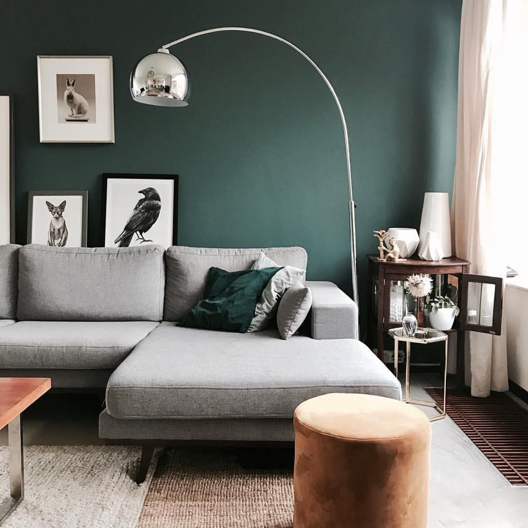 Farrow Ball Deutschland On Instagram Unser Inchyrablue Bringt Einen Schuss Farbe In Einen Modernen Einrichtu Einrichtungsstil Einrichtung Wohnzimmer Farbe