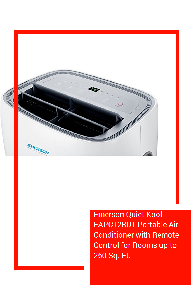 Emerson Quiet Kool EAPC12RD1 Portable Air Conditioner with