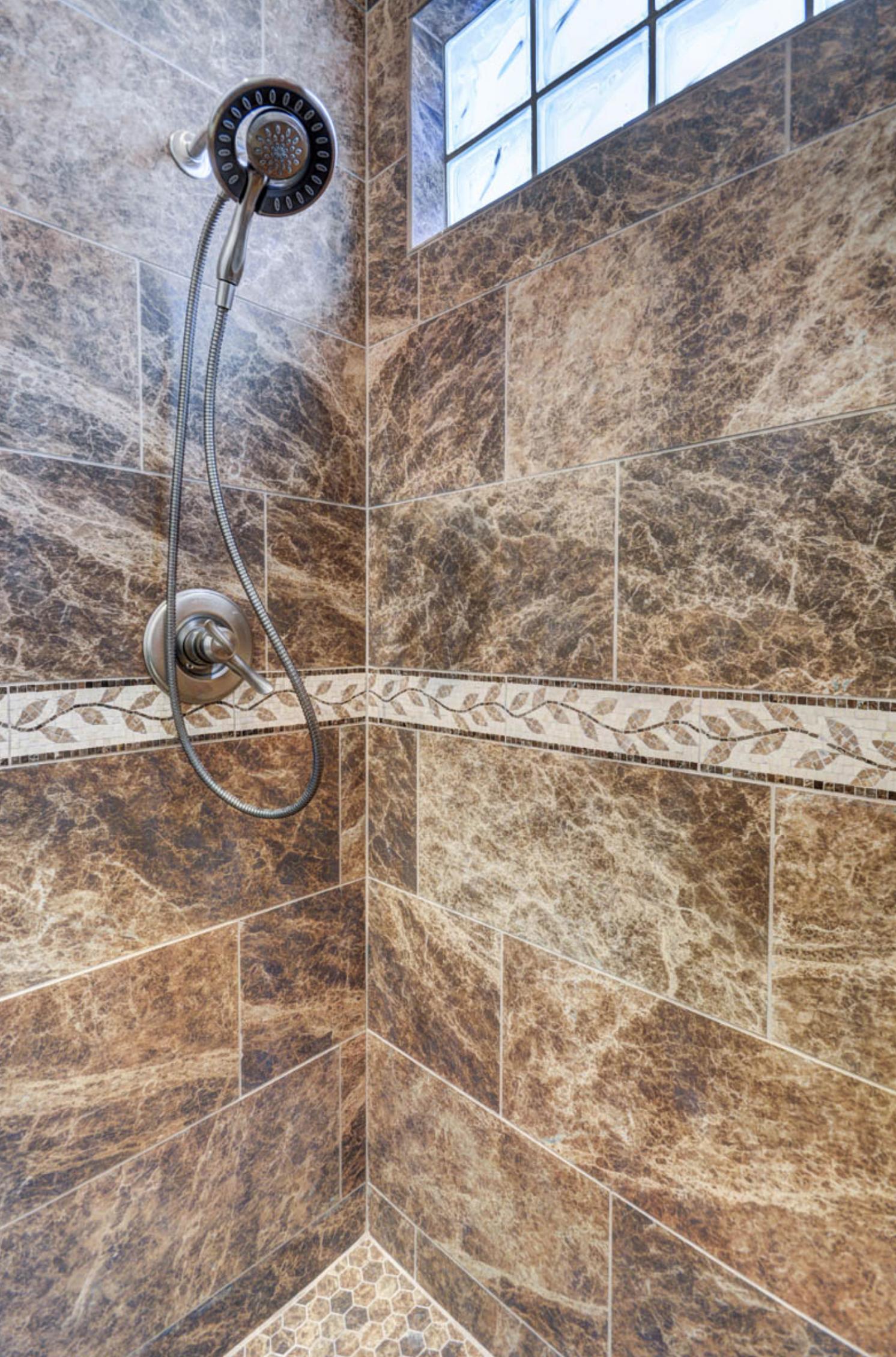 Brown Tile Bathroom Ideas U0026 Remodeling Photos By Las Vegas Remodel U0026  Construction