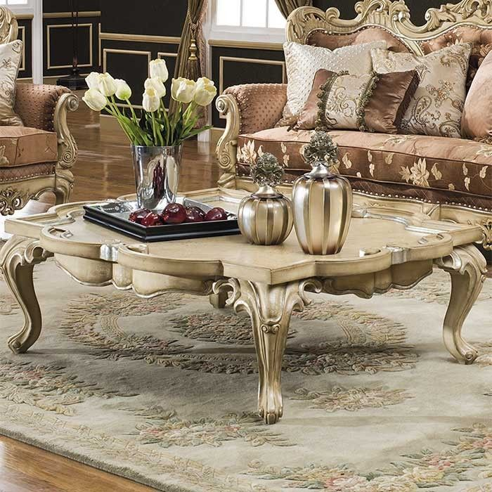 Celeste Antique White Coffee Table Coffee Table Decor Living