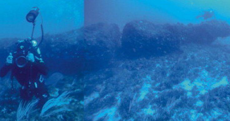 Ritrovato monolite di 12 metri sul fondale del Canale di Sicilia