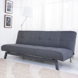 Buy Leader Lifestyle Johansson Sofa Bed Williow Grey Fabric from