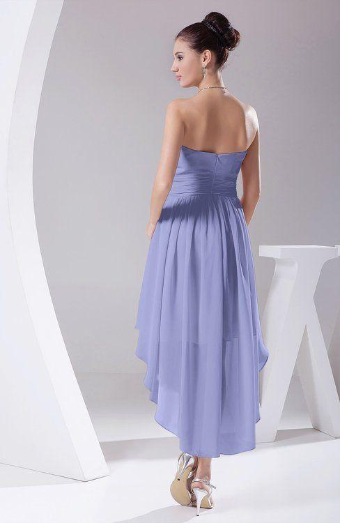 3383dcb6587b Hawaiian A-line Sleeveless Chiffon Tea Length Ruching Evening Dresses
