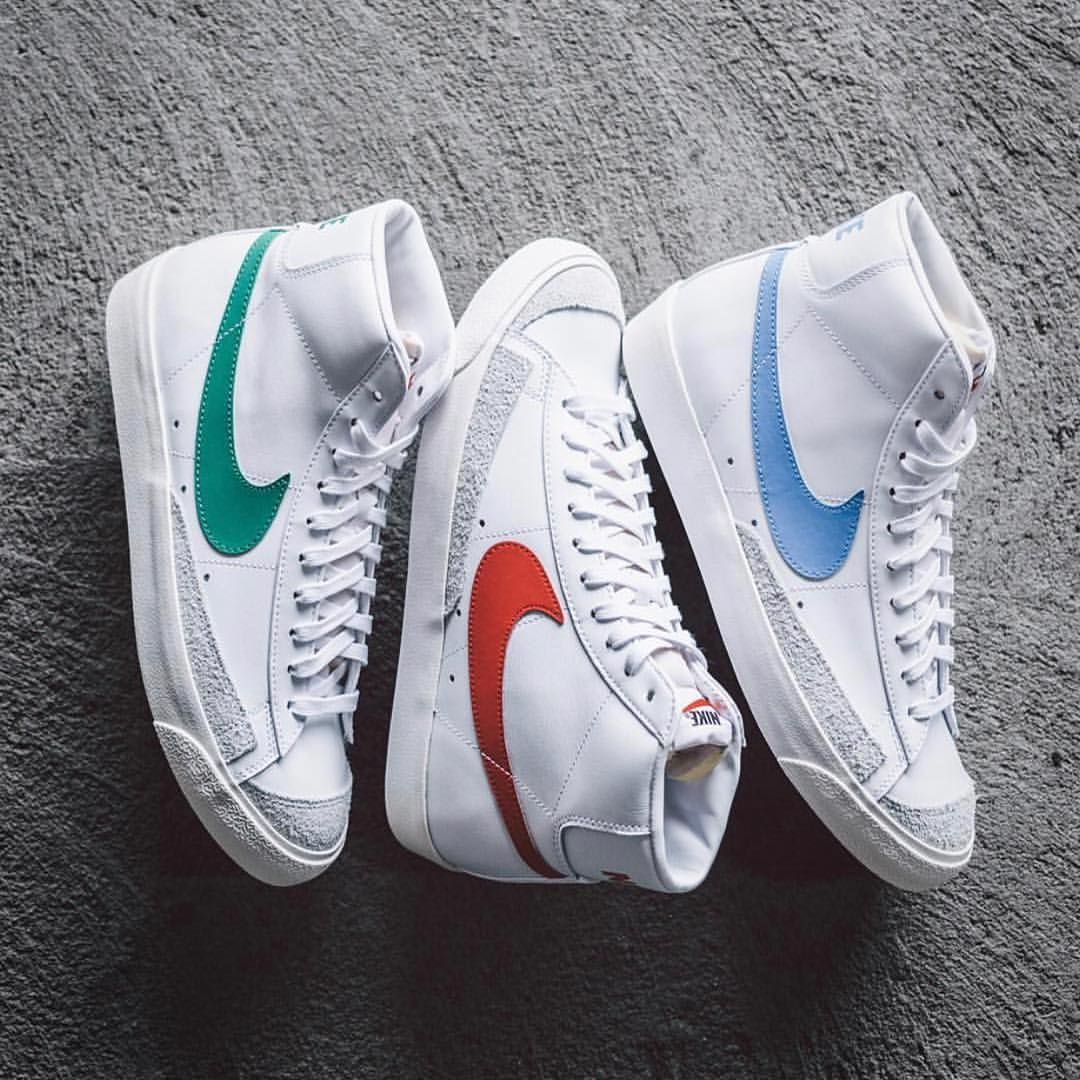 9bb64f245edc1 Best colorway of this Nike Blazer Mid 77 Pack? Phot | Sneakers in ...