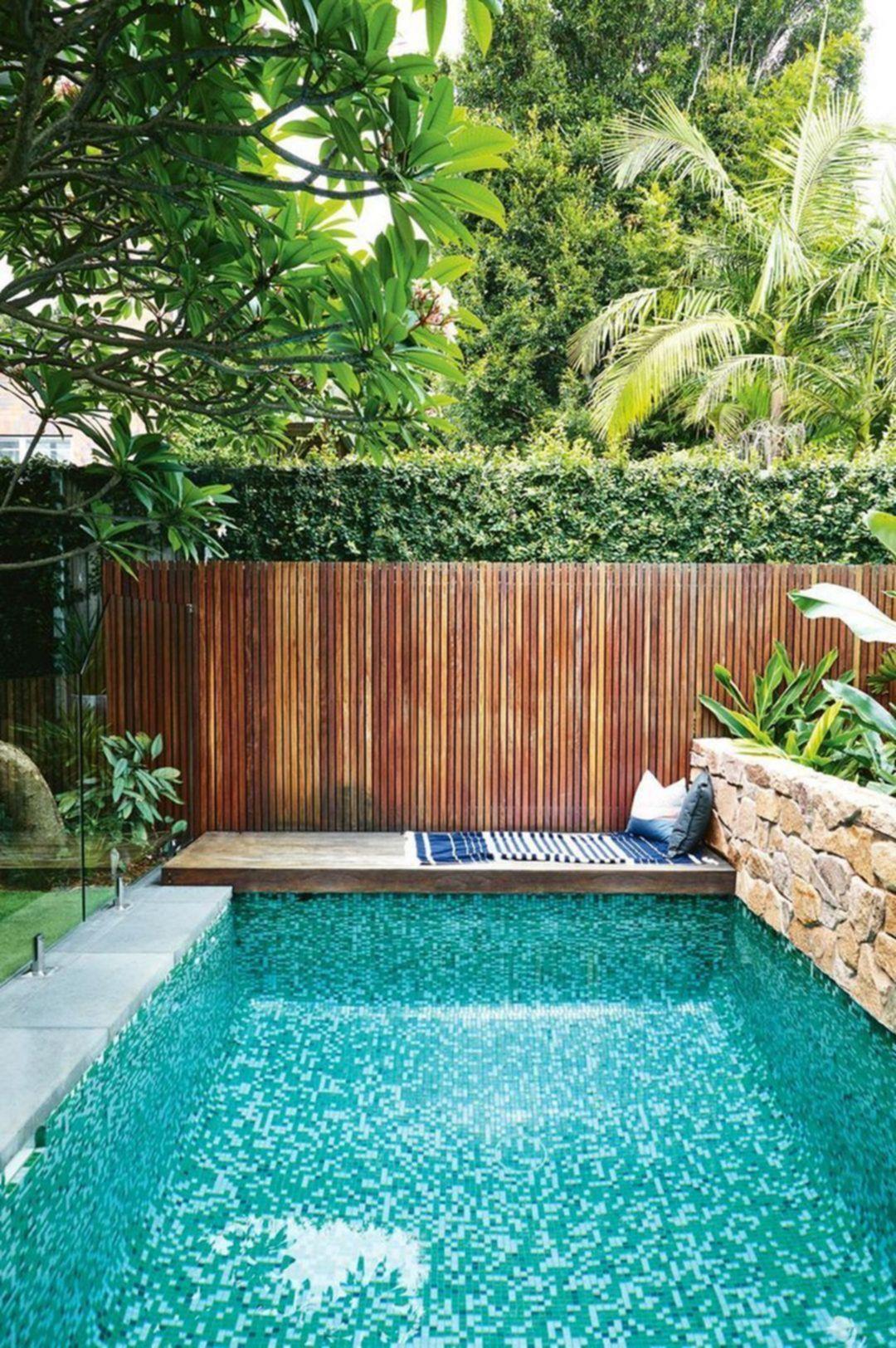 45 Amazing Backyard Garden With Swimming Pool Ideas Swimming Pools Backyard Backyard Pool Swimming Pool Designs
