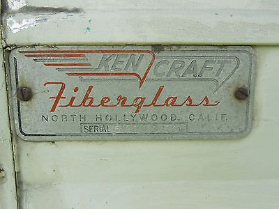 Vintage 1957 Kencraft camper Trailer Barn Fresh Shasta